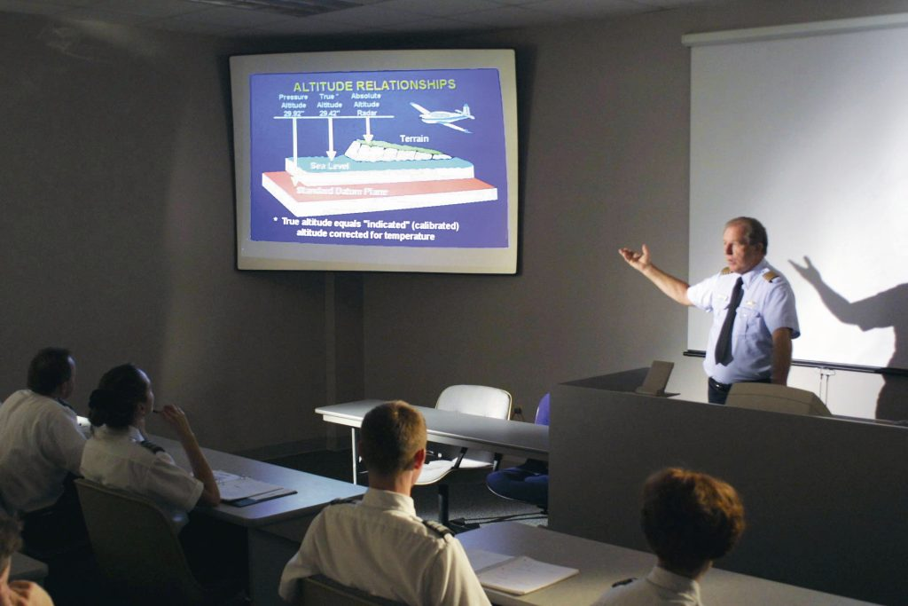 International Aviation Group Flight Training Classroom