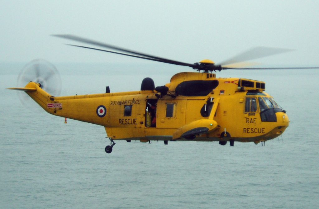 International Aviation Group Seaking Helicopter