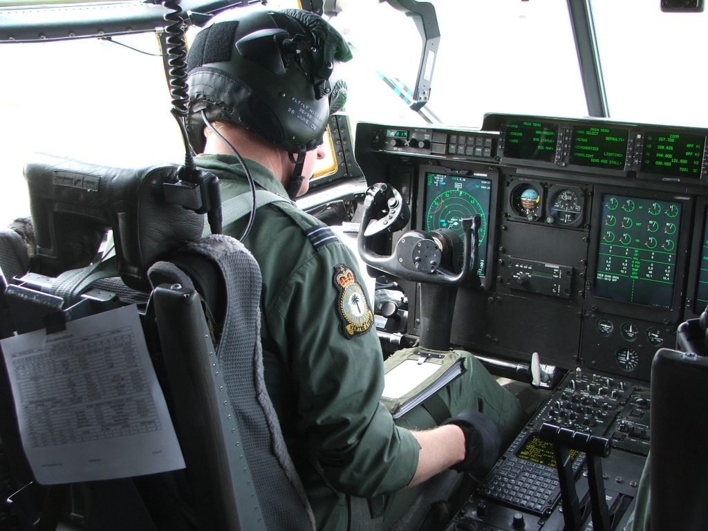 International Aviation Group Hercules Pilot